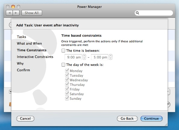 how to change time for log in on mac