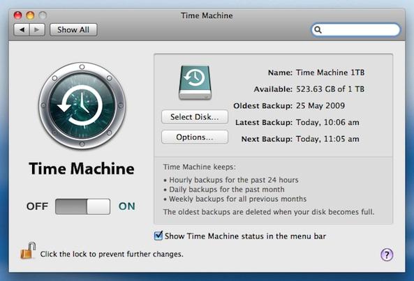 machine os x