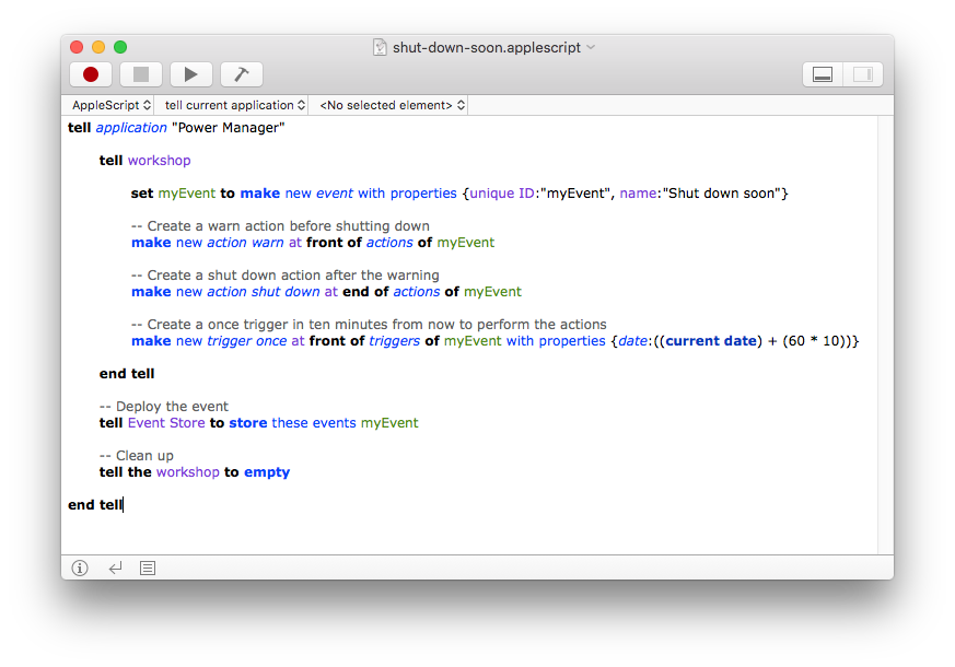 How to Shut Down Your Mac Using AppleScript