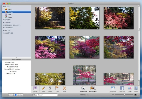 how to play iphoto slideshow on tv