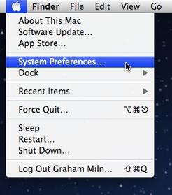 Setting up the VNC Server in Mac OS X 10 7 aka Lion