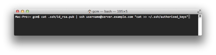 Avoiding Password Prompts with ssh and rsync