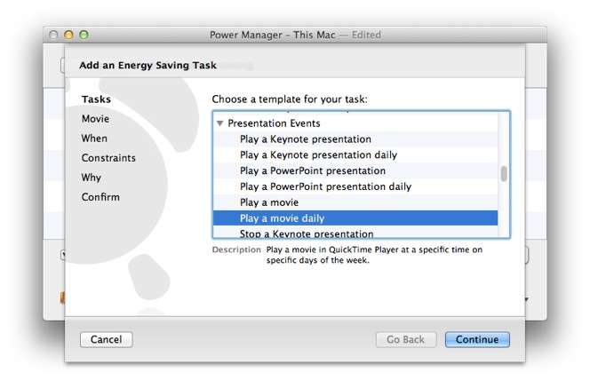 How to Automate the Playing of a Movie