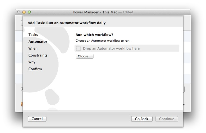 How to Schedule an Automator Workflow