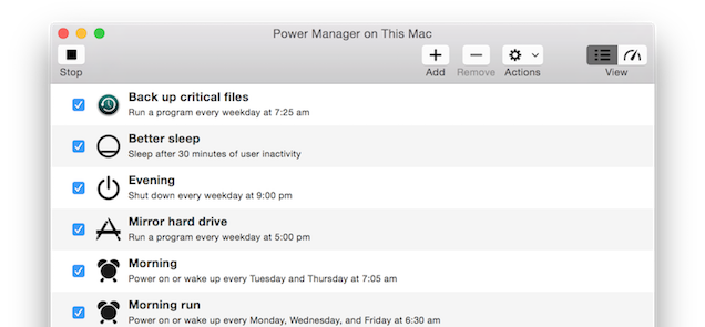 DssW Power Manager for Mac OS X